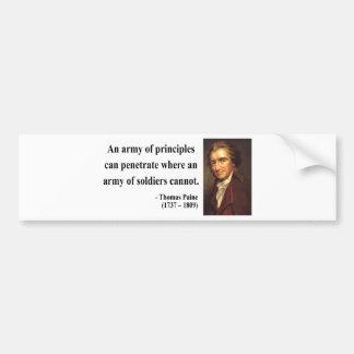 Thomas Paine Quote 4b Car Bumper Sticker