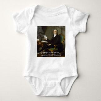 """Thomas Paine regalos y tarjetas de la cita de """"mis Body Para Bebé"""