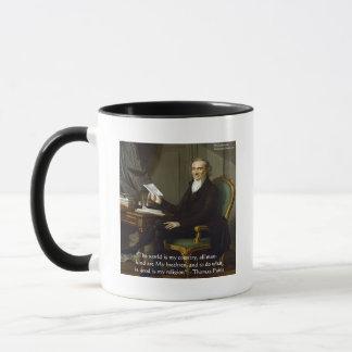 "Thomas Paine regalos y tarjetas de la cita de ""mis Taza"
