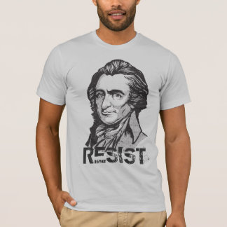 Thomas Paine Resistance Quote T-Shirt