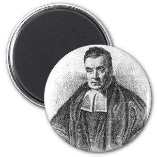 Thomas reverendo Bayes Magnet Imán Redondo 5 Cm