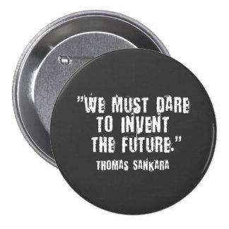 Thomas Sankara Black/White Button