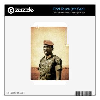 Thomas Sankara - Burkina Faso - African President iPod Touch 4G Skins