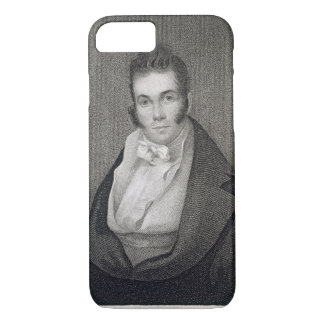 Thomas Say (1787-1834), engraved by Henry Hoppner iPhone 8/7 Case