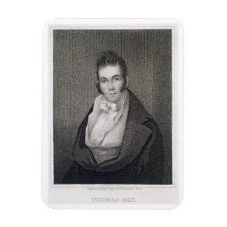Thomas Say (1787-1834), engraved by Henry Hoppner Magnet