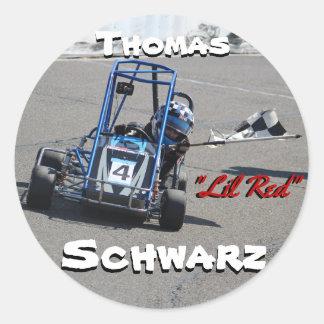 Thomas Schwarz Personalized Stickers