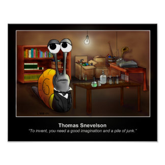 Thomas Snevelson Poster