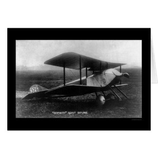 Thomas Sopwith's Scout Biplane 1919 Card