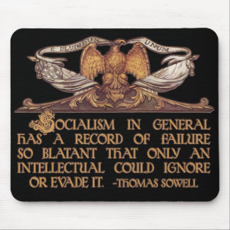 Thomas Sowell Quote on Socialism Mouse Pad