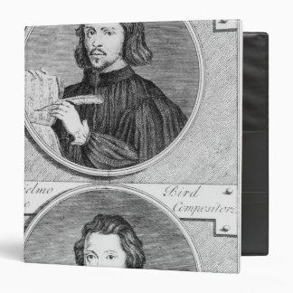 Thomas Tallis and William Byrd 3 Ring Binder