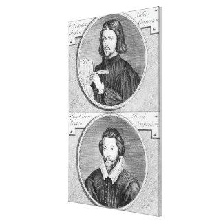 Thomas Tallis and William Byrd Canvas Print