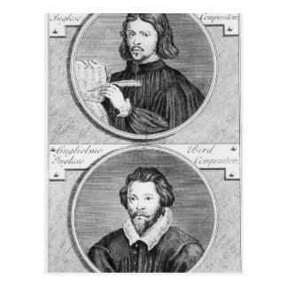 Thomas Tallis and William Byrd Postcard