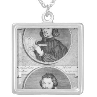 Thomas Tallis and William Byrd Silver Plated Necklace