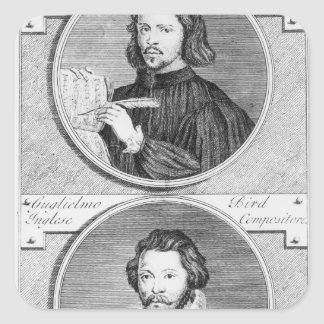 Thomas Tallis and William Byrd Stickers