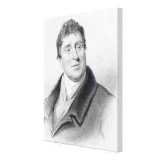 Thomas Telford, 1831 Canvas Print