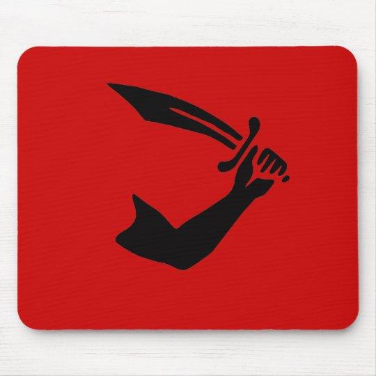 Thomas Tew mousepad (black design)