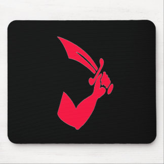 Thomas Tew -Red Mouse Pad