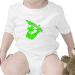 Thomas Tew-Shamrock Baby Bodysuits