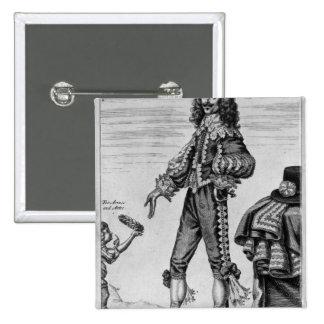 Thomas Urquhart, 1641 Pin Cuadrado