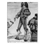 Thomas Urquhart, 1641 Postcard