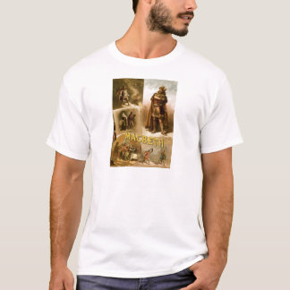 Thomas W. Keene in William Shakespeare's MacBeth T-Shirt