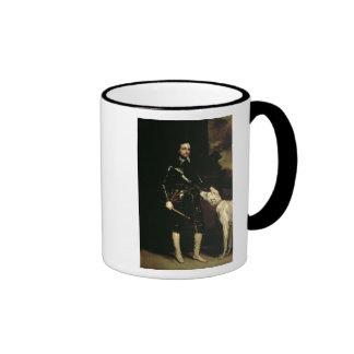Thomas Wentworth, 1r conde de Strafford 1633-6 Taza De Dos Colores