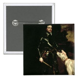 Thomas Wentworth, 1st Earl of Strafford  1633-6 Button