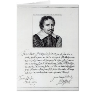 Thomas Wentworth 1st Earl of Strafford Greeting Cards