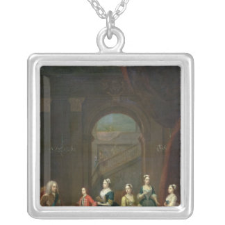 Thomas Wentworth, Earl of Strafford Silver Plated Necklace