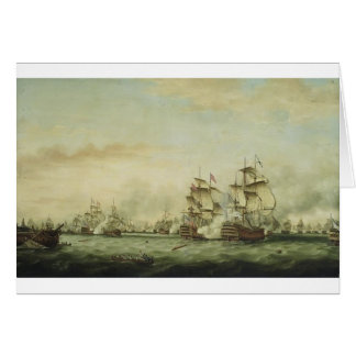 Thomas Whitcombe - The Battle of the Saints Stationery Note Card