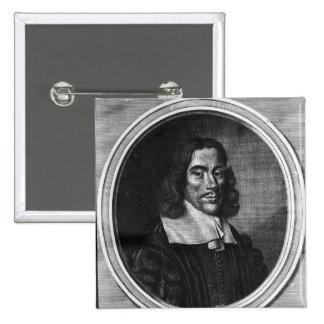 Thomas Willis, c.1675 Pinback Button