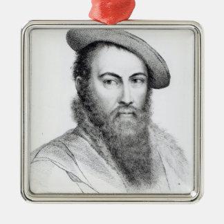 Thomas Wyatt Metal Ornament