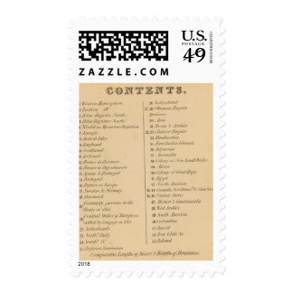 Thomas's Library Atlas 2 Postage Stamps