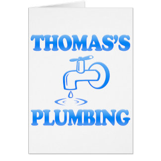 Thomas's Plumbing Card