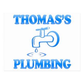 Thomas's Plumbing Postcard