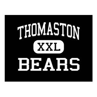 Thomaston - Bears - High - Thomaston Connecticut Postcard