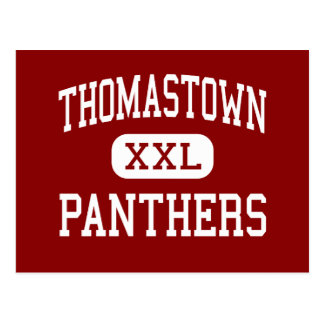 Thomastown - Panthers - High - Tallulah Louisiana Postcard