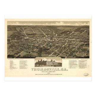 Thomasville, Georgia in 1885 Post Cards
