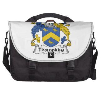 Thompkins Family Crest Laptop Computer Bag