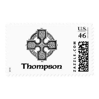 Thompson Celtic Cross Postage Stamp