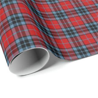 Thompson Clan Tartan Wrapping Paper