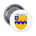 Thompson Coat of Arms/Family Crest Button