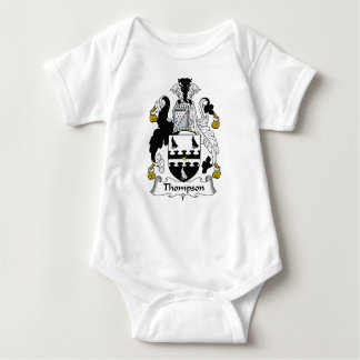 Thompson Family Crest Baby Bodysuit