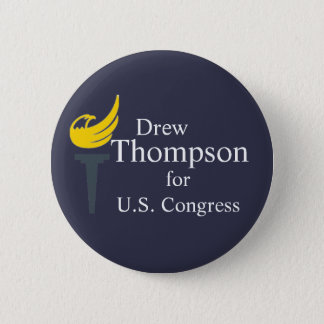 Thompson for Congress Button