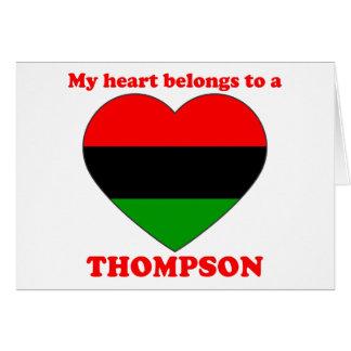 Thompson Greeting Cards