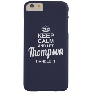 Thompson handle it ! barely there iPhone 6 plus case