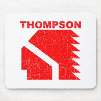 Thompson High School Warriors Mouse Pad