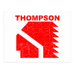 Thompson High School Warriors Postcard