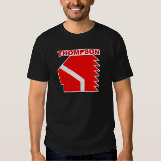 Thompson High School Warriors Tee Shirt