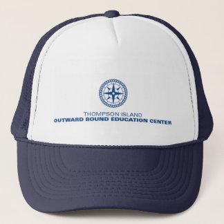 Thompson Island Navy Blue Trucker Hat